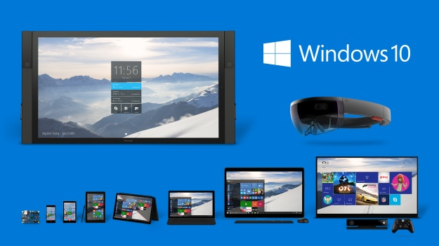 Windows 10 vuonna 2015
