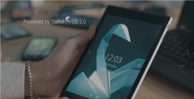 Jolla Tablet powered by Sailfish 2.0