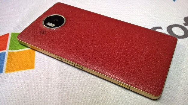 Back cover for Lumia 950 XL (red)