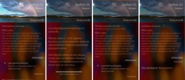 Sailfish 2.0.2.48 Aurajoki