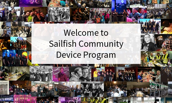 Welcome to Sailfish Community Device Program